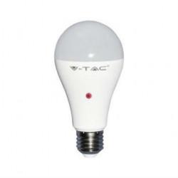 9 Watt E27 LED lamp met Sensor Warm Wit