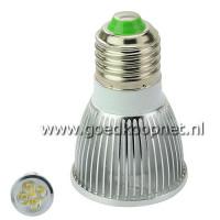 E27 220V 5 Watt LED Spot Lamp Warm White