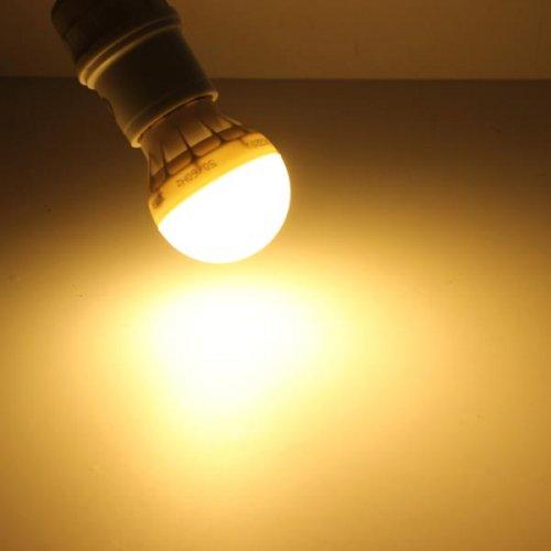 e27 3 watt led lamp warm wit. Black Bedroom Furniture Sets. Home Design Ideas