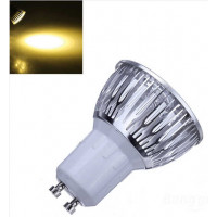 Dimbare GU10 LED Spotlamp 3 Watt Warm Wit