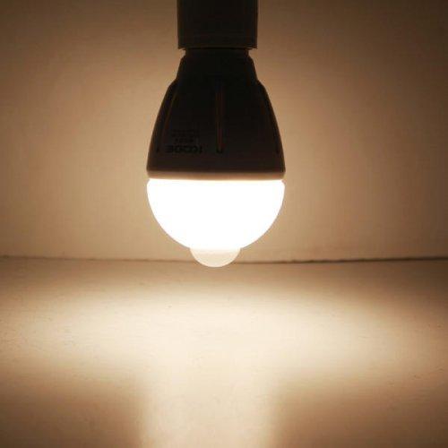 led sensor lampen 3 watt e27 led lamp met bewegingsmelder warm wit. Black Bedroom Furniture Sets. Home Design Ideas
