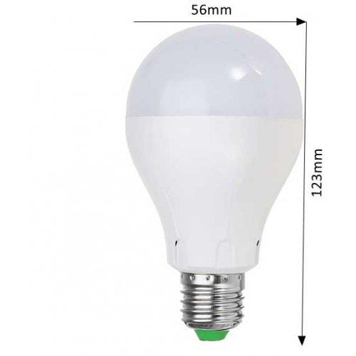 Watt E27 LED lamp met Bewegingsmelder Warm Wit