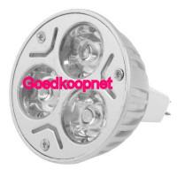 MR16 LED Spotlamp  3 Watt  Helder Wit.