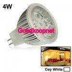 MR16 LED Spotlamp  4 Watt  Helder Wit.
