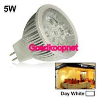 MR16 LED Spotlamp  5 Watt  Helder Wit.