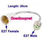 Flexibele E27 lamphouder 20 CM