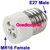 MR16- E27 adapter