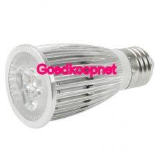 Dimbare E27 LED Spotlamp 9 Watt Helder Wit