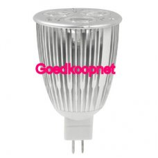 Dimbare MR16 LED Spotlamp 6 Watt Warm Wit