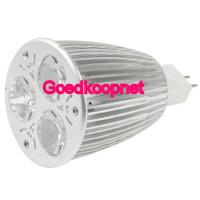 Dimbare MR16 LED Spotlamp 6 Watt Helder Wit