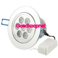 7 Watt LED inbouwspot, Helder Wit