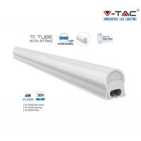 T5 LED armatuur 4W met schakelaar  Helder Wit