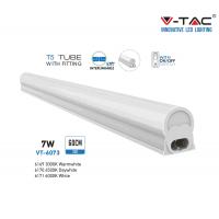 T5 LED armatuur 7W met schakelaar  Helder Wit