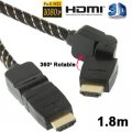Draaibare,  Full HD 1080P  HDMI AM to AM Kabel