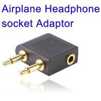 Vliegtuig Hoofdtelefoon Adapter