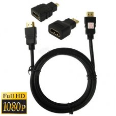 3 in 1 Full HD 1080P HDMI Kabel Adapter Kit