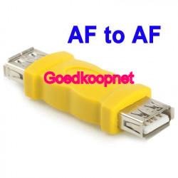 USB A Female - A Female Adapter