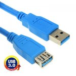 USB 3.0 KABEL A male - A female  1.5 M