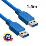 USB 3.0 KABEL A male - A male  1.5 M