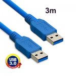 USB 3.0 KABEL A male - A male  3.0 M