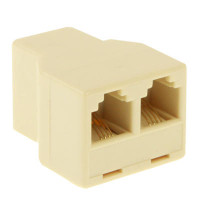RJ11 1x2 telefoon Connector Splitter