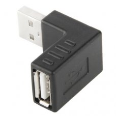 USB 2.0 Haakse A Male to A Female Adapter
