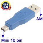 USB 3.0 AM to Mini 10 pin Adapter